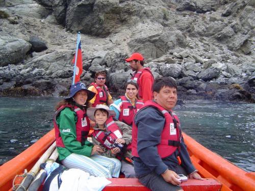 Navegando en Isla  Choros